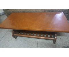 wooden center table very strong in perfect condition