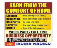 International Company Seeks Home Workers