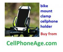 Bike mount portable phone holder