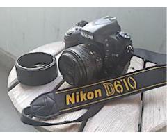 FULL FRAME NIKON D610 witih 50mm 1.8G lens