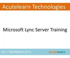 Microsoft Lync Training Institute in Hyderabad