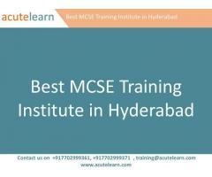 Best MCSE Training Institute in Hyderabad