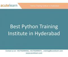 Best Python Training Institute in Hyderabad