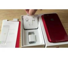 iPhone 7+ 128 gb Red.