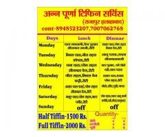 Best Tiffin Service in Allahabad