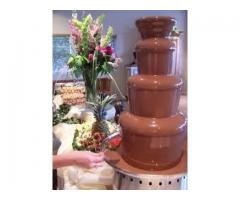 Outdoor Fancy Ripple Chocolate Fountain on Hire | punjab, Chandigarh