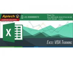 Best VBA & Macro Training Institute|Aptech Malviya Nagar in Delhi