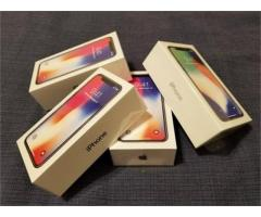 BRANDNEW APPLE IPHONE X 256GB/APPLE IPHONE 8 PLUS/SAMSUNG 8 PLUS
