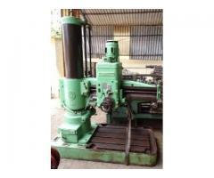 Csepel Make Model RF2 Radial Drilling Machine