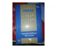 Linear Algebra (2nd Edition) by Hoffman Kunze (Author)