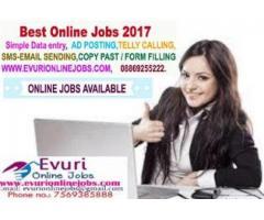 Offline / Online data entry jobs