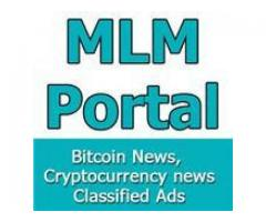 MLM Portal, Cryptocurrency Trading and free classified ads website