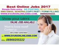 Work for extra income by online, part time jobs