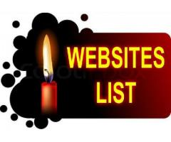 Unique Alexa ranking free classified ads posting webistes list newly update.