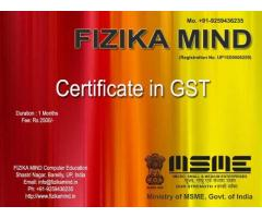 FIZIKA MIND Certificate Course on Tally Busy Marg CCC
