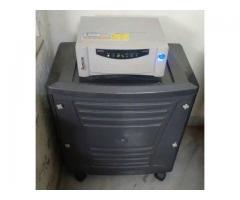 Microtek inverter & Exide battery on sale