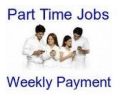 Part Time Work Available In A Tours And Travels Company Earn Upton 8000 Per Week.
