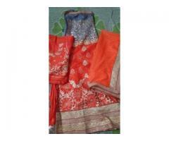 Free size brand new semi stitched lehenga