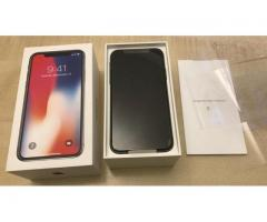 New Apple iPhone X 256GB Unlocked