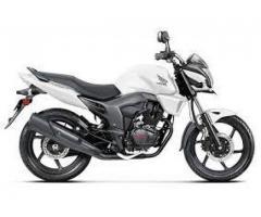 Dec 2014 Model Honda Trigger bike, Single handed Well maintained Bike