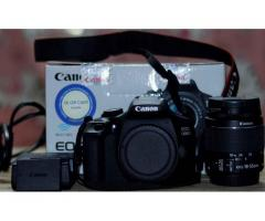 Canon 1300D with 18-55 mm lens ,battery,charger, bill,box