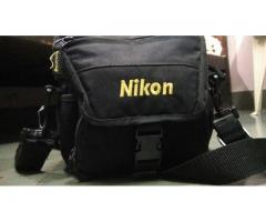 Nikon D5200 with 35mm Prime lens, 18-55mm,55-200mm lens