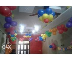 Balloon with decoration
