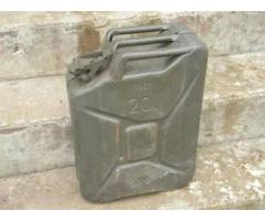 Vintage military Jerry can