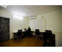 Ready to Play office space for the team of 4 to 6seater at Canaans