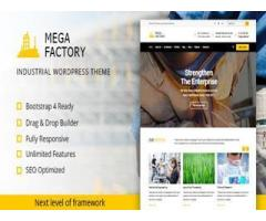 Mega Factory - Factory & Industrial Business WordPress Theme