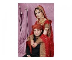 Beautiful NRI bride & groom wedding through online At  NRI Marriage Bureau
