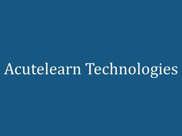 AWS Training Institute in Hyderabad Acutelearn