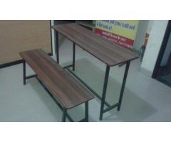 BRAND NEW TABLE AND BENCHES FOR SCHOOL AND COACHINGS