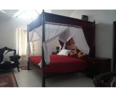 Tudor Style Four Poster Bed with Full Canopy