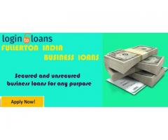 Fullerton India Business Loans, Apply for Fullerton India Business Loan in India  - Logintoloans