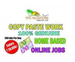 I need computer operators /literates for simple home based part time job.