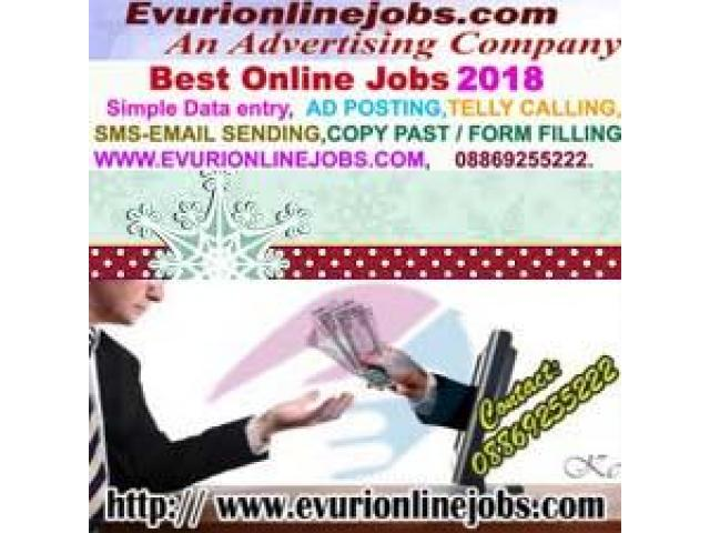 : Do want genuine online home based work Simple Typing Work From Home / Part Time Home Based