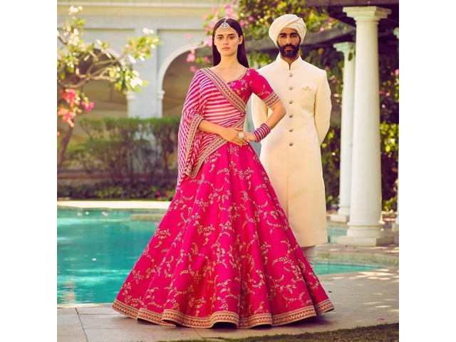 Buy the Latest Bridal lehengas  @vadhucreations.com - 2/4