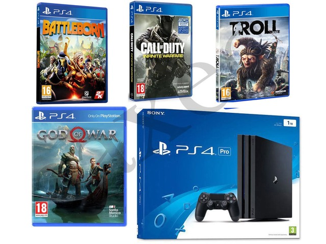 Sony PlayStation 4 Pro 1TB 4K Jet Black Console Chandigarh