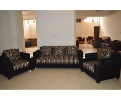 Luxury Sofa Set with Best Quality Fabric and 5 years Warranty